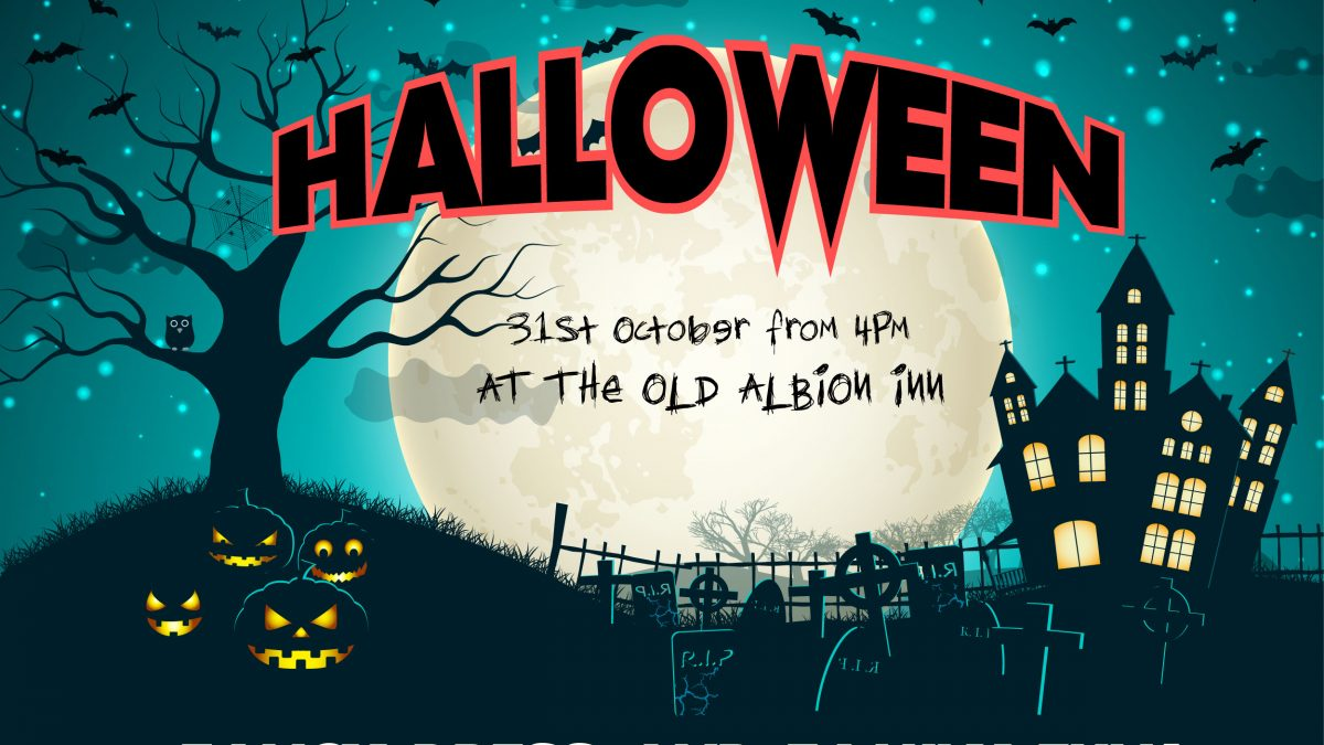 Halloween at The Old Albion